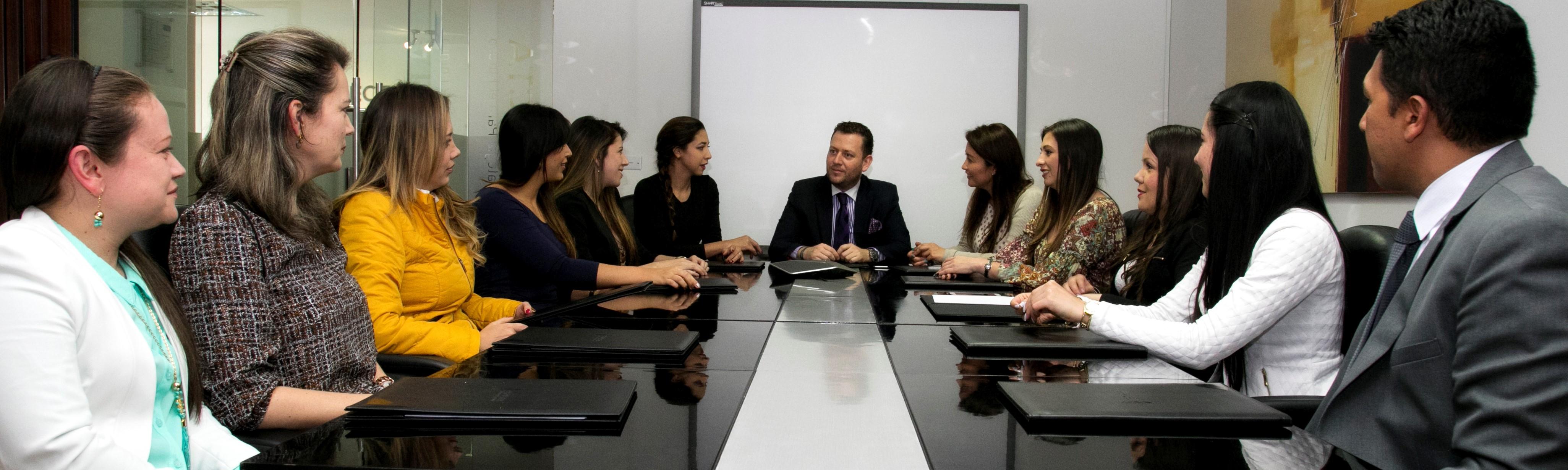 gestion de riesgo sala de juntas